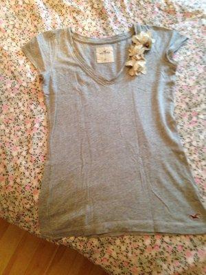 Hollister T shirt 34/XS mit blumen