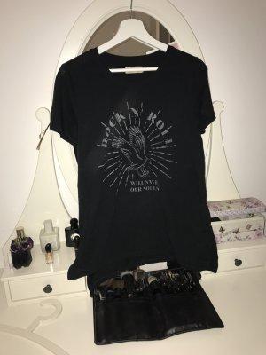 Hollister Shirt met print zwart-grijs