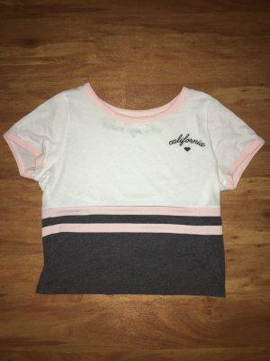 Hollister T-shirt court multicolore