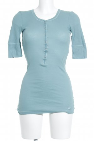 Hollister T-Shirt hellblau Casual-Look