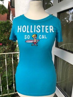 Hollister T-Shirt, hellblau, Größe S