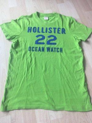 Hollister T-Shirt im leuchtenden Grün