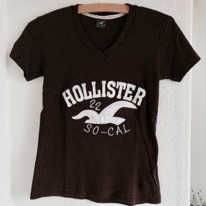 Hollister T-shirt in Aubergine