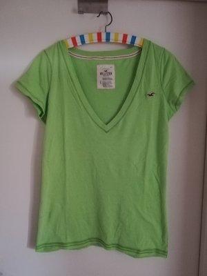 Hollister T-Shirt, limette, grün, Größe L, neu