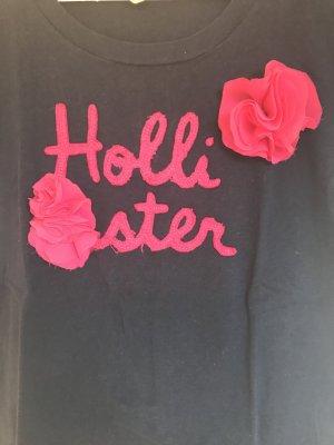 Hollister T-Shirt mit zwei Blumen