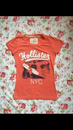 Hollister T-Shirt orange, Größe XS
