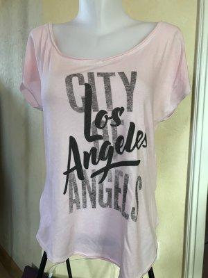 Hollister T-Shirt Oversize Gr M Rosa