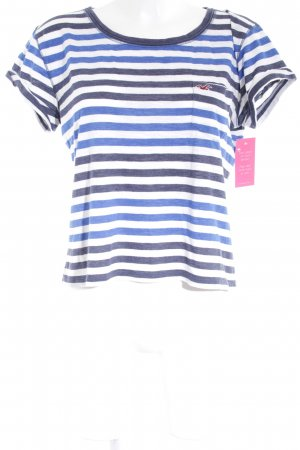 Hollister T-Shirt Streifenmuster Casual-Look
