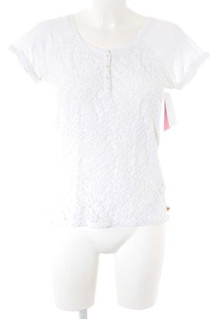 Hollister T-Shirt weiß Casual-Look