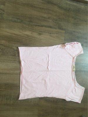 Hollister T-Shirt white-light pink
