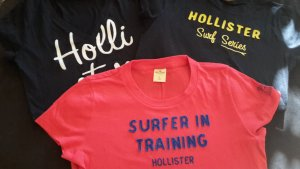 Hollister T Shirts 3er Set