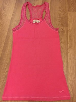 Hollister Lace Top pink