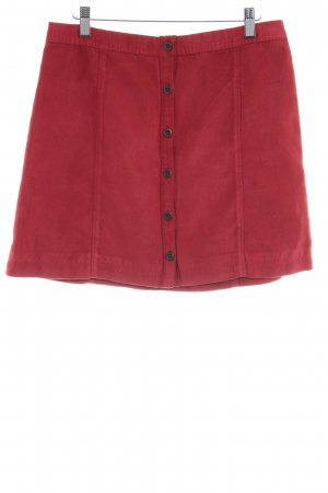 Hollister Circle Skirt dark red casual look