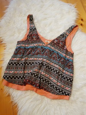 Hollister Top corto multicolore