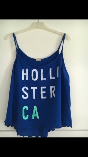 Hollister Top in S #blue