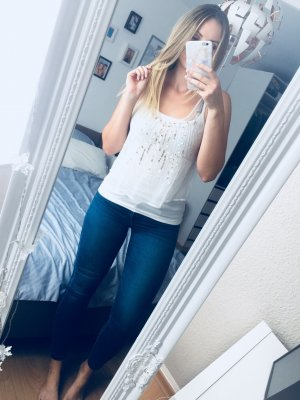 Hollister Top mit Pailletten