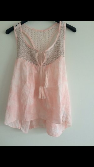 Hollister Top rosa Silber