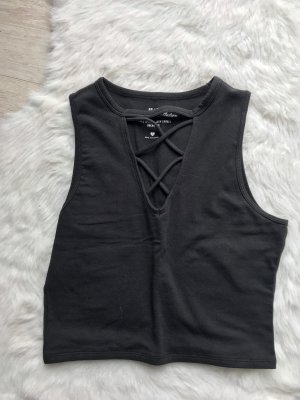 Hollister Top cut-out nero