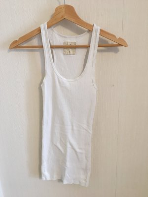 Hollister Long Top white