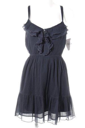 Hollister Trägerkleid dunkelblau Romantik-Look
