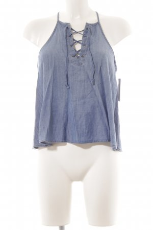Hollister Trägertop blau Beach-Look
