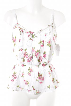 Hollister Strappy Top flower pattern beach look