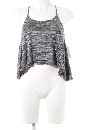 Hollister Trägertop hellgrau-grau Streifenmuster Street-Fashion-Look