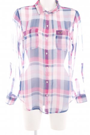 Hollister Transparent Blouse check pattern casual look