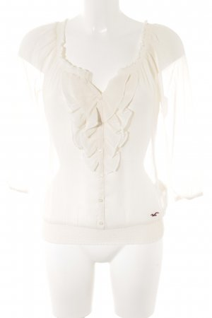 Hollister Transparante blouse room romantische stijl