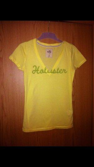 Hollister Tshirt gelb