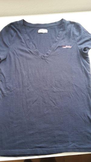 Hollister Tshirt Gr. M blau