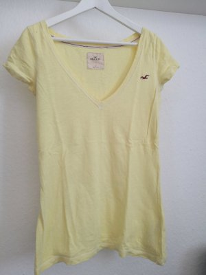 Hollister Tshirt in gelb