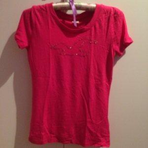 Hollister Tshirt pink