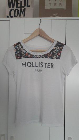 Hollister Tshirt Shirt Größe S weiß