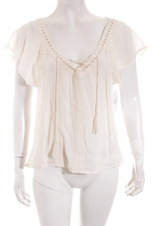 Hollister Tunika creme Street-Fashion-Look