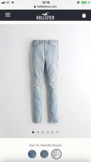 Hollister Ultra high waist super skinny Jeans Größe xs 34/36