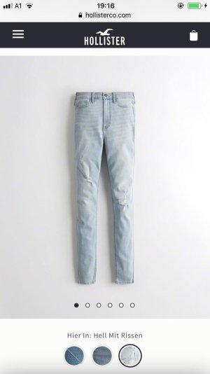 Hollister Ultra high waist super skinny Jeans große xxs 32/34