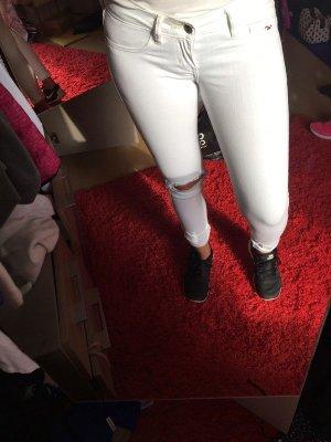 Hollister weiße Jeans