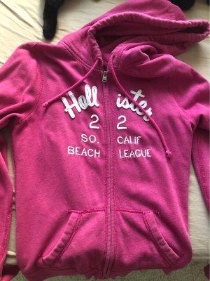 Hollister Chaleco con capucha rosa