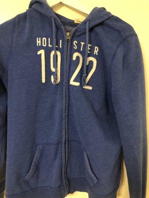 Hollister Chaleco con capucha azul-azul oscuro