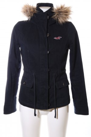 Hollister Winterjacke blau Casual-Look