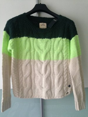 Hollister Cable Sweater multicolored