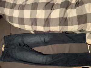 Hollister Hoge taille jeans donkerblauw