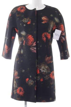 Holly Golightly Übergangsmantel florales Muster Elegant