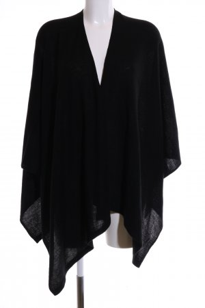 holly's Cape zwart casual uitstraling