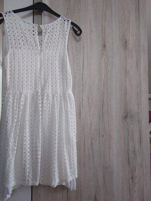 Holly's weißes Kurzarmkleid Gr. 38