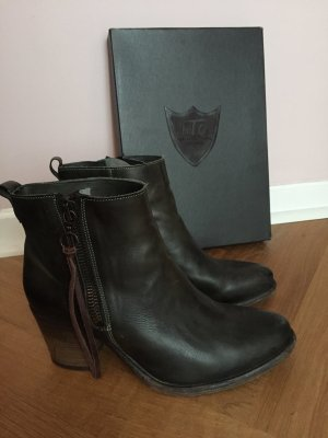 Hollywood Trading Stiefel, HTC, old green, Gr.40