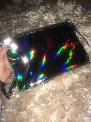 Hologram Clutch Umhängetasche