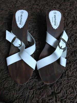 Holz high heels