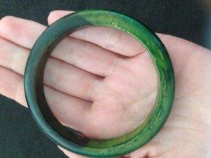 Bangle green-dark green